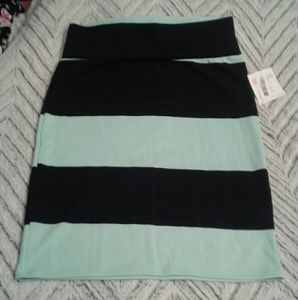 Mint and Black Striped LLR Cassie